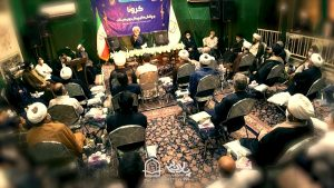 اولین جلسه شیخ حسین انصاریان