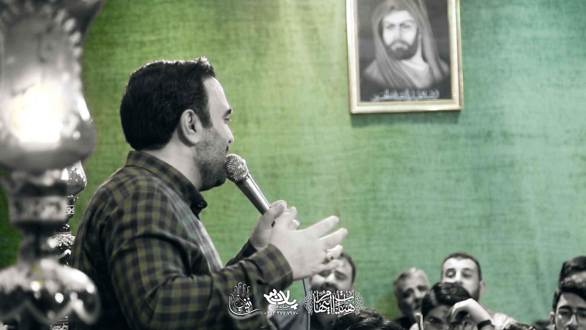 به لب خواهشی نداشت محسن عرب خالقی